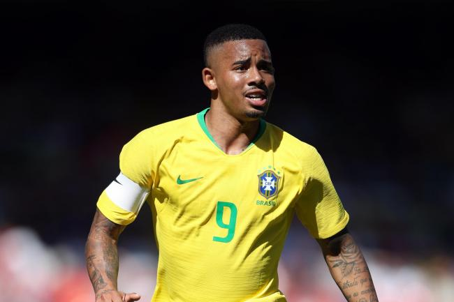 Manchester City forward Gabriel Jesus scored, and was later sent off, as Brazil won the Copa America final